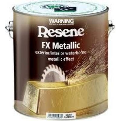 Resene - 水性金屬效果面漆-銀鋁